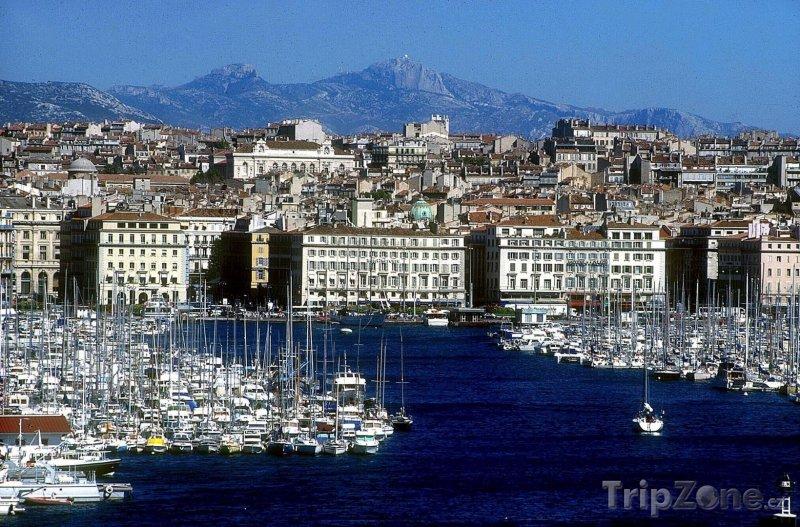 Fotka, Foto Starý přístav v Marseille (Marseille, Francie)