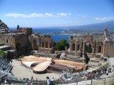 Taormina, antické divadlo