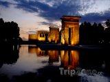 Templo de Debod v noci
