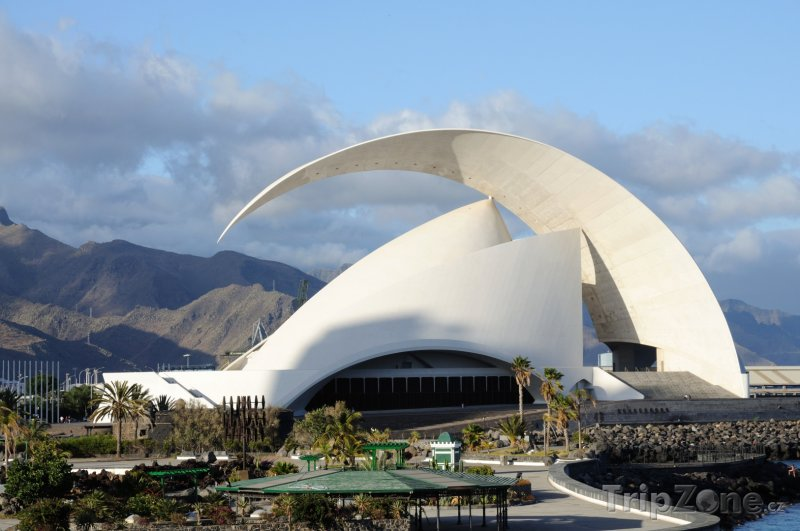 Fotka, Foto Tenerife, Santa Cruz de Tenerife, koncertní síň Auditorio (Kanárské ostrovy, Španělsko)