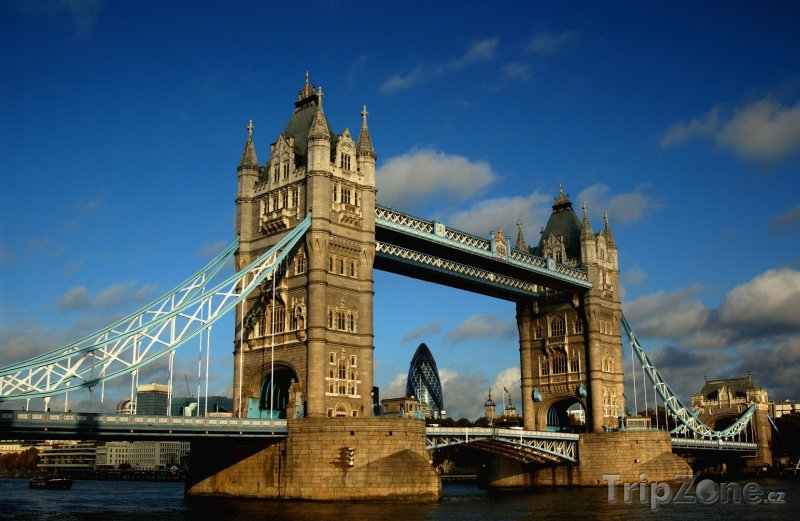 Fotka, Foto Tower Bridge (Londýn, Velká Británie)