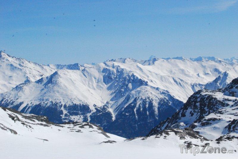 Fotka, Foto Tři údolí (Les Trois Vallées) (Tři údolí, Francie)