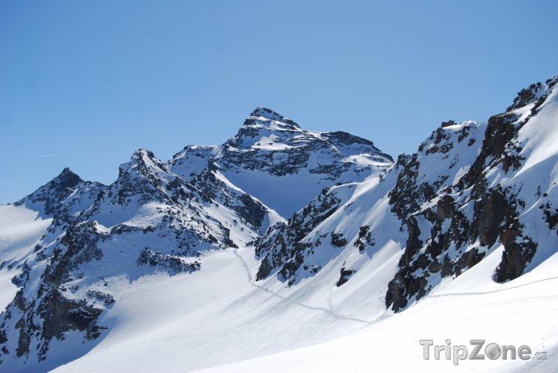 Fotka, Foto Tři údolí - panoráma Alp (Tři údolí, Francie)