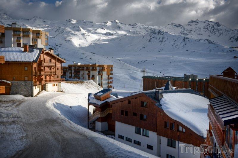 Fotka, Foto Ubytování ve Val Thorens (Tři údolí, Francie)