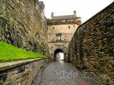 Ulička v Edinburghu