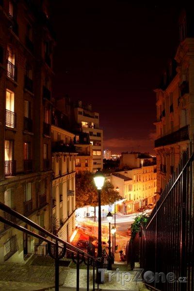 Fotka, Foto Uličky na Montmartru (Paříž, Francie)