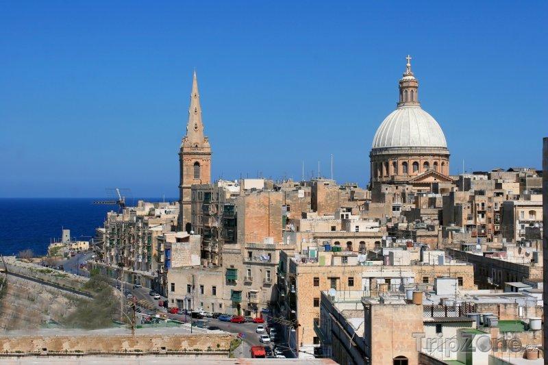 Fotka, Foto Valletta, panoráma města (Malta)