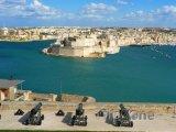 Valletta, panoráma přístavu