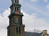 Věž kostela Westerkerk