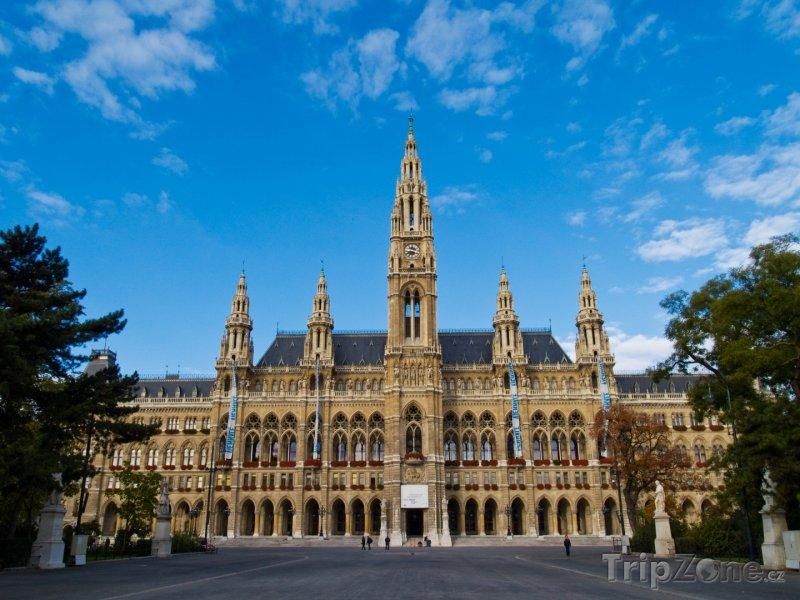 Fotka, Foto Vídeňská radnice (Rathaus) (Vídeň, Rakousko)