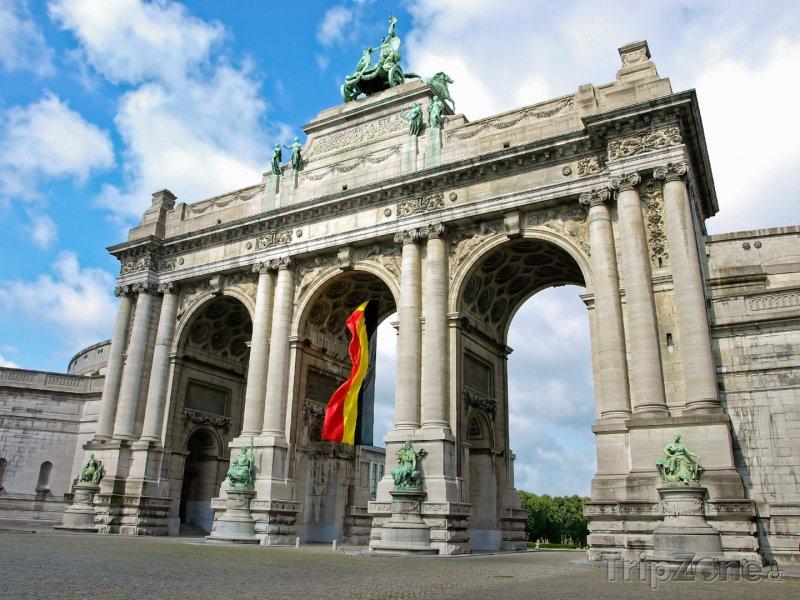 Fotka, Foto Vítězný oblouk Cinquantenaire (Brusel, Belgie)