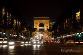 Vítězný oblouk na Champs-Élysées