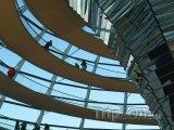 Vnitřek kopule budovy Říšské sněmu v Berlíně
