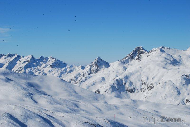 Fotka, Foto Vrcholky Alp (Les Sybelles, Francie)