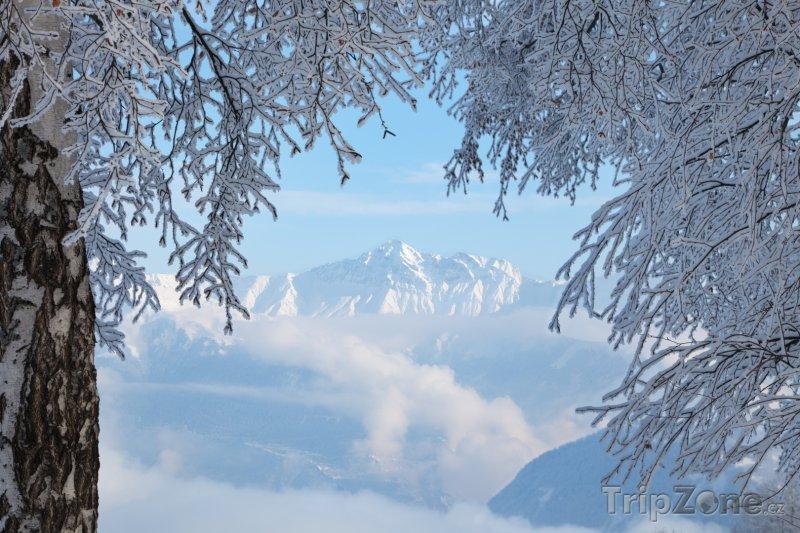 Fotka, Foto Vrcholky hor v okolí Les Sybelles (Les Sybelles, Francie)