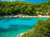 Záliv na ostrově Korčula