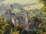 Zámek Neuschwanstein v Bavorsku