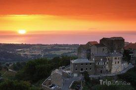 Západ slunce na Korsice