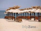 Zlaté Písky, slunečníky na pláži