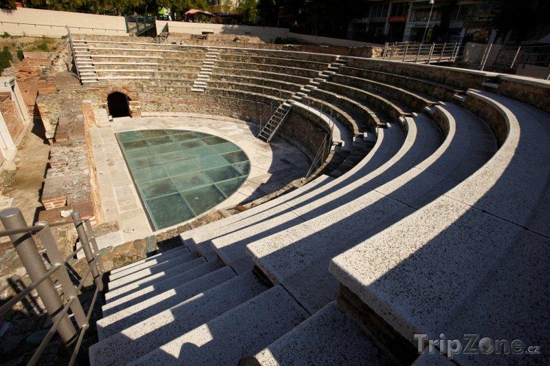 Fotka, Foto Antické divadlo (Soluň, Řecko)