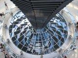 Berlín - Reichstag zevnitř