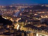 Bilbao v noci
