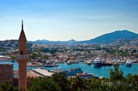 Bodrum - pohled na přístav