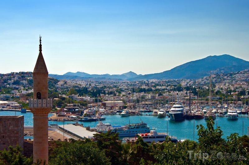Fotka, Foto Bodrum - pohled na přístav (Turecko)