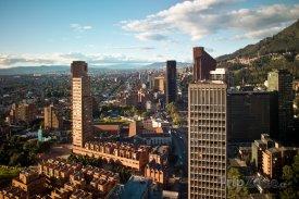 Bogota, pohled na finanční centrum