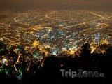 Bogota v noci