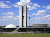 Brasília, budova Národního kongresu