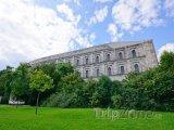 Budova dokumentačního centra v Norimberku