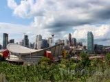 Calgary - Olympijský stadion Saddledome