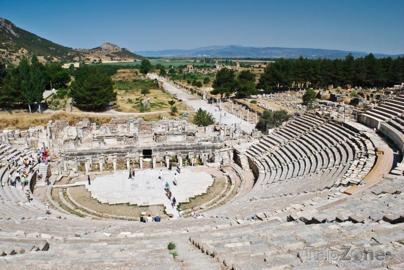 Fotka, Foto Efesos - antický amfiteátr (Turecko)