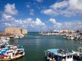 Heraklion - pohled na přístav