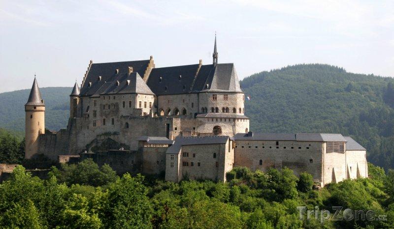 Fotka, Foto Hrad u města Vianden (Lucembursko)
