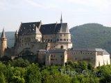 Hrad u města Vianden