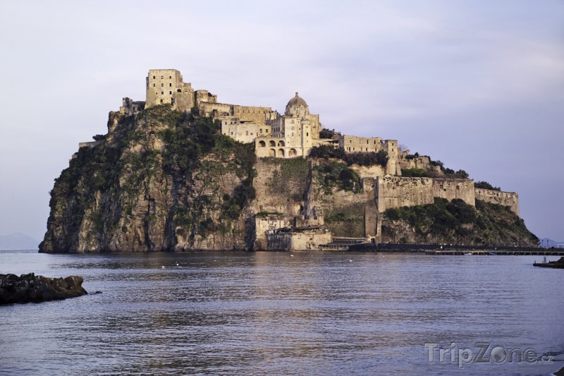 Fotka, Foto Ischia, Castello Aragonese (Itálie)