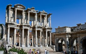 Izmir - Celsusova knihovna