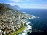 Kapské Město z ptačí perspektivy