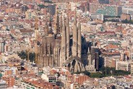 Katedrála Sagrada Familia v Barceloně