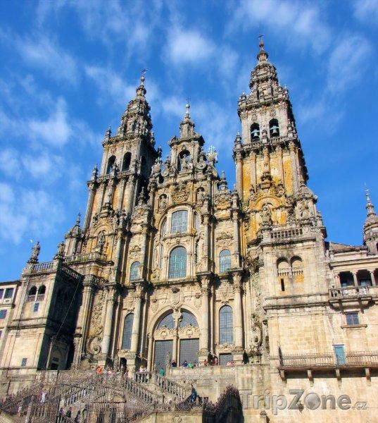 Fotka, Foto Katedrála v Santiago de Compostela (Španělsko)