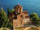 Kostel svatého Jovana u města Ohrid