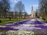 Královská zahrada u zámku Rosenberg v Kodani