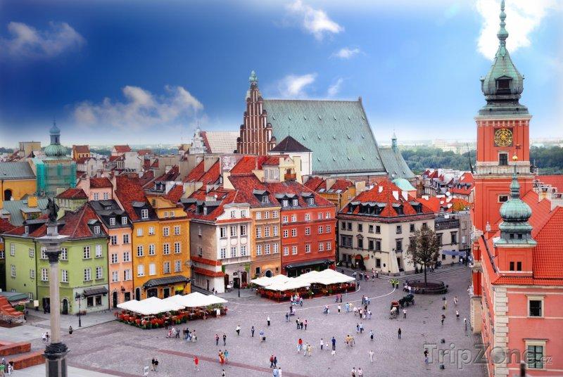 Fotka, Foto Královský hrad ve Varšavě (Polsko)