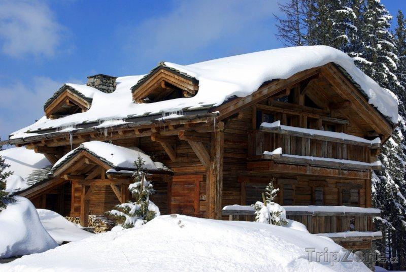 Fotka, Foto Luxusní ubytování ve francouzských Alpách (Francouzské Alpy, Francie)