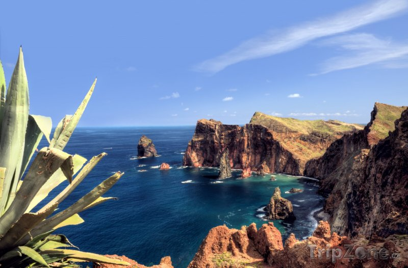 Fotka, Foto Madeira - útesy Ponta de Sao Lourenco (Madeira, Portugalsko)