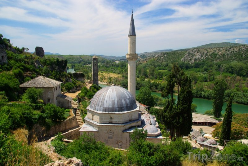Fotka, Foto Mešita ve vesnici Počitelj (Bosna a Hercegovina)