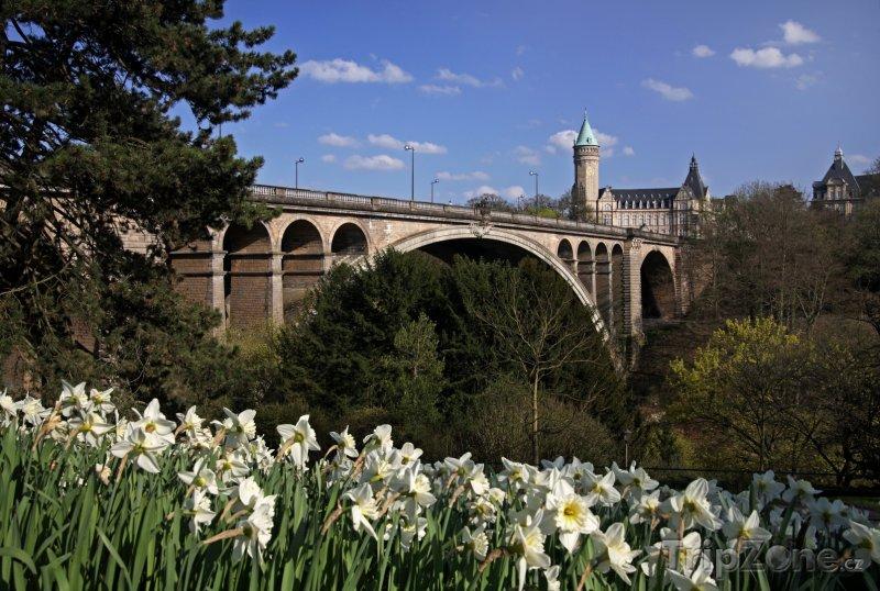 Fotka, Foto Most Pont Adolphe v Lucemburku (Lucembursko)