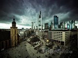 Mraky nad Frankfurtem